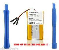 Replacement battery for ipod Nano 1st gen a1137 MA350 616-0223 MA004 MA352 MA107