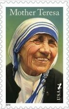 USA - stamp on Mother Teresa - MNH - 2010 centenary issue