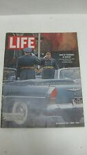 Life Magazine November 20th 1964 Show Of Toughness In Moscow Marshal Mailnovsky