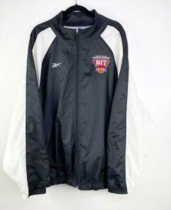 Reebok Men's Activewear Lined Full Zip Basketball Windbreaker Jacket Sz 3XL