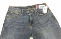 NEW Men's LUCKY BRAND 221 Original Straight Delmont Jeans Size 34X30
