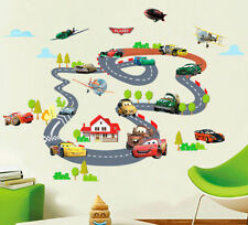 Large Disney Cars Race Wall Deco Vinyl Stickers Decal Decor Removable Art Kid