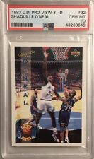 New listing 1993 Upper Deck Pro View 3-D Shaquille O'Neal PSA 10 (POP 5)