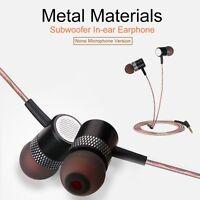 3.5mm High Quality Metal Earphones Bass Headset in-Ear Hearphone