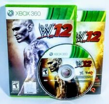 WWE '12 (Microsoft Xbox 360, 2011) 2012 Complete Tested