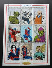 Guinea Comic Spiderman 1999 Superhero Cartoon Animation (sheetlet) MNH