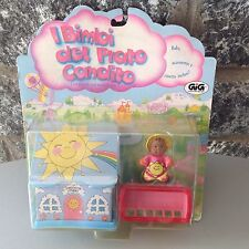 Vintage# GALOOB SO SMALL BABIES# playset with doll#NIB