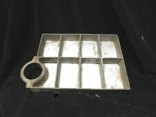 Vintage 8 Compartment Pro Small Parts Organizer Storage Box Screw Bolt Fuse Nail