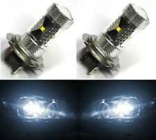 LED 30W H7 White 5000K Two Bulbs Head Light High Beam Replace Show Off Road