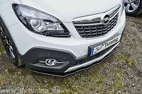 Sonderaktion Spoilerschwert Frontspoiler Cuplippe aus ABS für Opel Mokka mit ABE