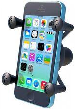 RAm UNI X GRIP W/BALL BASE S/PHONE Motorcycle Handlebar Mount Phone Holder