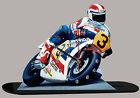 FREDDY SPENCER, HONDA MOTO GP-02, MODELLINI DI MOTO MINIATURA IN DELL'OROLOGIO