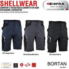 Pantaloncini lavoro bermuda softshel COFRA modello BORTAN edilizia industria
