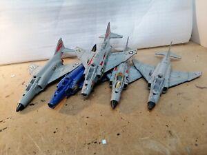 DINKY TOYS 730 PHANTOM II F- 4K US NAVY FIGHTER jet VINTAGE DIECAST. Joblot. Raf