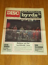 DISC AND MUSIC ECHO JANUARY 15 1972 BYRDS OSIBISA STEVIE WONDER JOHN MCLAUGHLIN