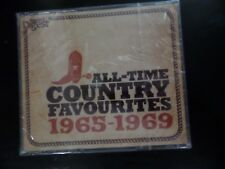 CD TRIPLE ALBUM - READERS DIGEST - ALL TIME COUNTRY FAVOURITES - 1965 - 1969 NEW