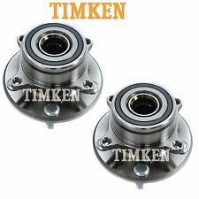 For Acura Honda Pilot Pair Set of Front Wheel Bearings & Hubs Assies Timken