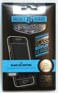 Gadget Guard Glass Screen Protector for iPhone 6 Plus/6S Plus, Black Ice Edition
