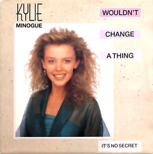"Kylie Minogue ‎7"" Wouldn't Change A Thing - France (VG+/VG+)"