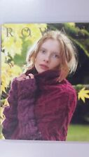 Rowan Knitting & Crochet Magazine #50 - 39 Designs to Knit 199 Pages