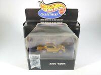 1998 Hot Wheels Collectibles King Kuda Barracuda w/ Redlines Gold NEW NIB 1/64