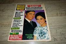 NUOVO mondo n. 16/1972 TB Ratna Dewi, John F. Kennedy, Monika Peitsch