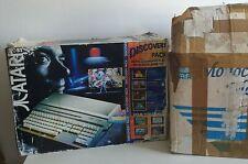 Atari 520 STE Vintage Computer ,mouse, manuals monochrome monitor discs boxed.