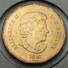 2010 Canada Vancouver Olympic 1 One Dollar Loonie Uncirculated Coin C749