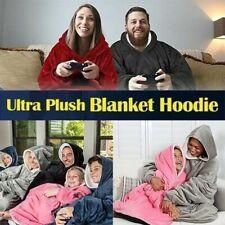 Hoodie Blanket Soft Oversized Ultra Plush Sherpa Giant Big Sweatshirt Reversible