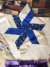 Lot Of 12 Quilt Blocks Plus A Little Fabric