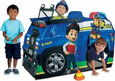 Kids PLAY TENT Playhut Paw Patrol Chase Police Truck Playhouse Nickelodeon TOY!!