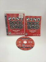 Rock Band Track Pack: Vol. 2 PS3 CIB Complete Game Sony PlayStation 3 Guitar