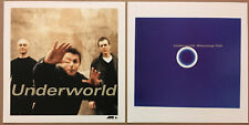 Underworld Rare 1999 Double Sided Promo Poster Flat for Beaucoup Cd Mint Usa
