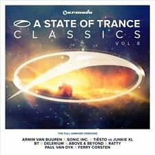 ARMIN VAN BUUREN - A STATE OF TRANCE CLASSICS, VOL. 8 USED - VERY GOOD CD