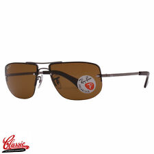 RAY-BAN SUNGLASSES RB3497 004/83 Gunmetal Frame 59mm POLARIZED