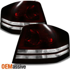 Fit 08-10 Dodge Avenger Dark Red Taillights Left & Right Side Replacement (Fits: Dodge Avenger)