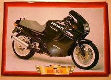 DUCATI 907IE 907 IE CLASSIC MOTORCYCLE BIKE 1990'S PICTURE PRINT 1992