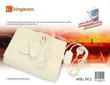 Nouvelle taille king chauffé sous couverture électrique lavable en machine à 2 réglages de chaleur