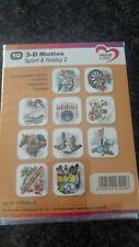 "10 x 3-D Motive ""Sport & Hobby 2"", Kartengestaltung, Jittenmeier"