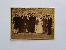 c1945 Naval Officer WWII Wedding Photograph. Fashion/ Style/ Men/ Women/ Girl