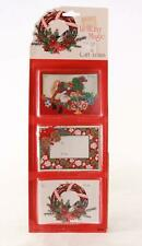 2 (Two) Vintage 18 Christmas Gift Trims. Made in Usa
