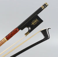 4/4 Violin Bow Carbon Fiber Stick Straight Pernambuco Performance Master Level