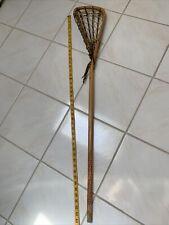 Rare Vintage Patterson Wooden Lacrosse Stick 44�