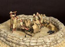 Kit de Figuras 1/35 Escala Modelo de Resina Segunda Guerra Mundial Alemán África Corps (5 Figuras)