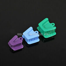 3 pcs Dental Silicone Mouth Bite Block Rubber Mouth Opener Cheek Retractor Prop
