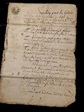 1809  Napoleon Manuscript Document