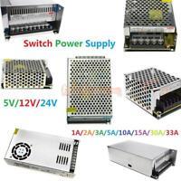 5V/12V/24V DC 1A-10A-30A-50A-70A Switching Power Supply For LED Strip CE DC/AC