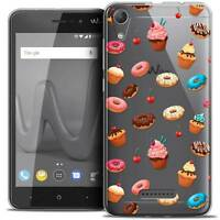 """Coque Gel Pour Wiko Lenny 4 (5"""") Extra Fine Souple Foodie Donuts"""