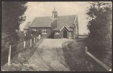 Ferndown, Dorset. The Old St. Mary's Church, Church Road, Ferndown 1908 Postcard