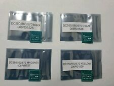 4 Toner Chip For Xerox Color 550 560 570 006R01525 006R01526 006R01527 006R01528